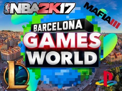 Vlog: Barcelona Games World