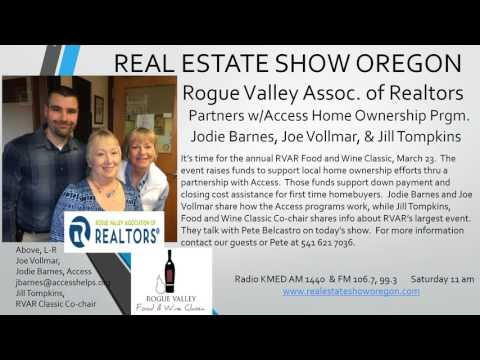 Real Estate So. Oregon, RVAR Home Ownership Project Partners