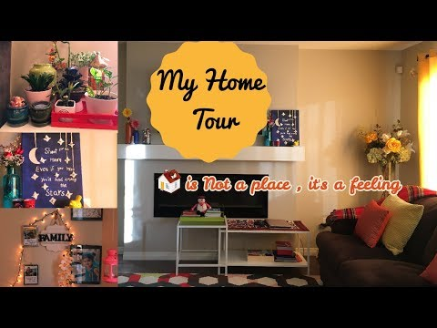 Indian Home Tour - Canada I House Tour And Decoration Ideas I Happy Home Happy Life