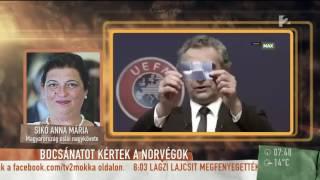 Elképesztő! Így kért bocsánatot a magyarokat kiröhögő norvég riporter - tv2.hu/mokka