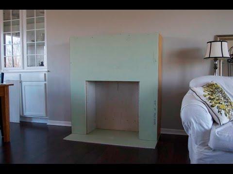 Como hacer una chimenea de carton youtube for Dekokamin ikea