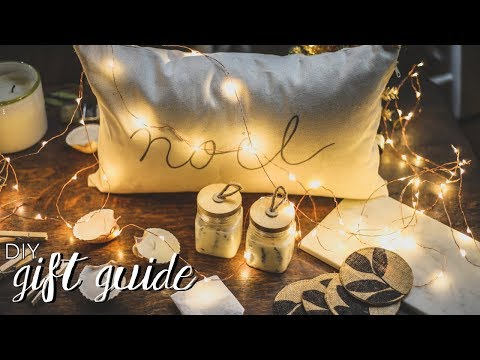 DIY Gift Ideas (Super Easy & Last Minute)