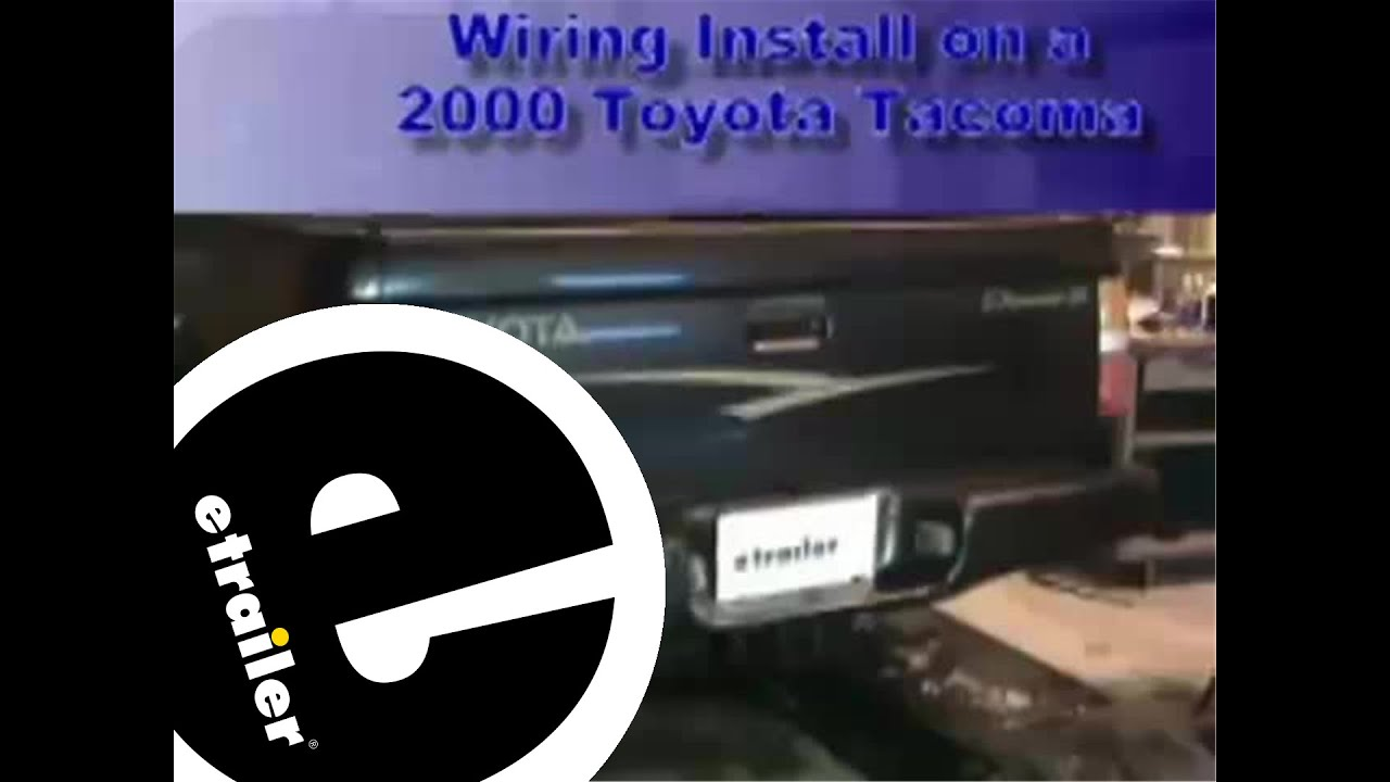 2011 toyota tacoma hitch wiring wiring diagram img 2011 toyota tacoma hitch wiring source trailer wiring harness installation  [ 1280 x 720 Pixel ]