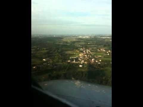 Atterrissage en A318 à Nantes