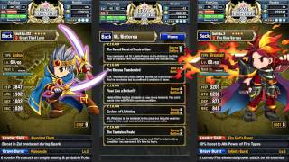 Brave Frontier - Farming EXP (Fastest way to level up your account)