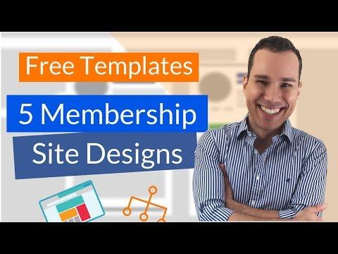 Six-Figure Membership Sites Templates: Complete Membership Site Design Guide (5 Live Case Studies) - 동영상