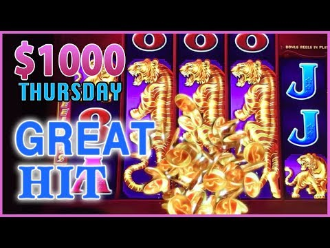 🌳💰🌳 $1,000 on Tree of Wealth ✦ THOUSAND Dollar Thursdays  ✦ High Roller Bet Dancing Drums