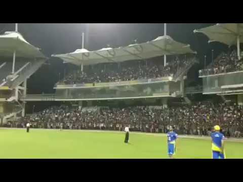 Huge crowd during Chennai Super Kings practice session at M  A  Chidambaram Stadium