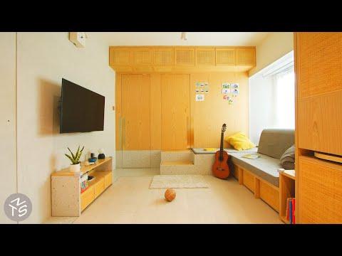 NEVER TOO SMALL 40sqm/430sqft Small Family Apartment - Rattan in Concrete Jungle