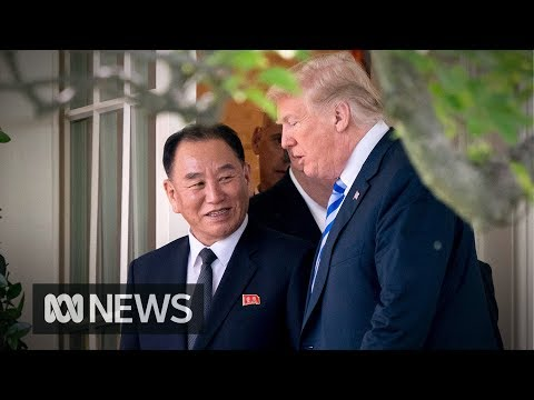 Trump says on again, off again, meeting with North Korea's Kim Jong-un is back on