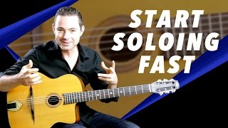 How To Start Soloing Fast - Gypsy Jazz Secrets