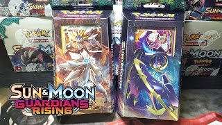 COOL NEW POKEMON TCG GUARDIANS RISING THEME DECKS - STEEL SUN - HIDDEN MOON - POKEMON UNWRAPPED