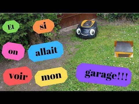 Garage Pour Robot Tondeuse