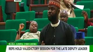 Reps hold valedictory in honour of late deputy majority leader, Buba Jubril