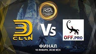 Командный турнир по StarCraft II: (Lotv) (16.01.2019) RSL Финал! 3D vs OffPro