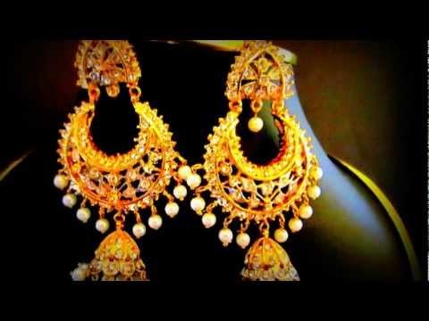 KhushRang Indian Jewelry Kundan Necklace Sets & Sarees