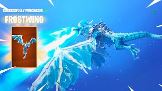 NEW FROSTWING GLIDER + SOCCER SKINS!!! / (Fortnite BR) / 400+ Wins / Come Through !!