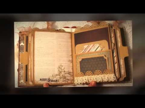 Vintage Christmas Mini Premade Scrapbook Album By Luv2scrap4fun On