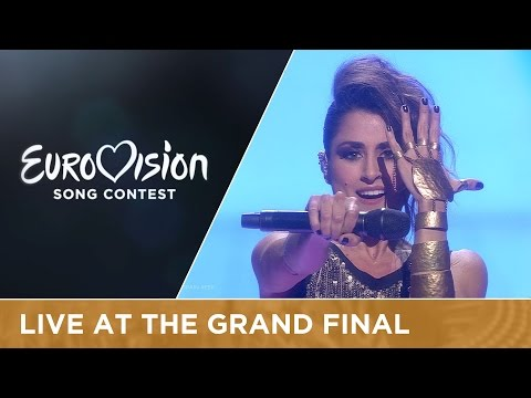 LIVE Barei - Say Yay! (Spain) at the Grand Final of the 2016 Eurovision Song Contest