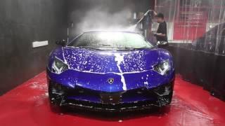 Lamborghini Aventador SV @ Auto Mystique Car Care (AMCC) [HD]