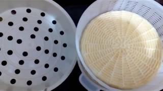 "Мой рецепт сыра  ""качётта топлёное молоко"" My recipe for cheese ""Caciotta baked milk"""