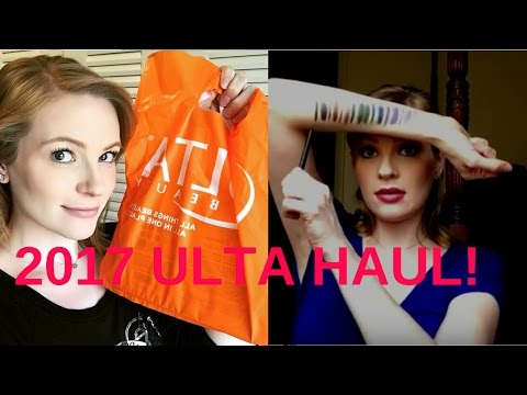 Ulta Haul  2017 and Makeup Revolution Palette Swatches! | RaychieLovesMakeup