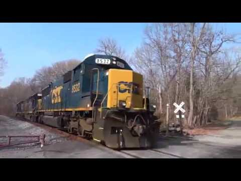An Hour Of Just CSX Train Engines @ Point Of Rocks