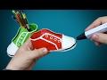 Как нарисовать кеды 3D ручкой VitrumUP