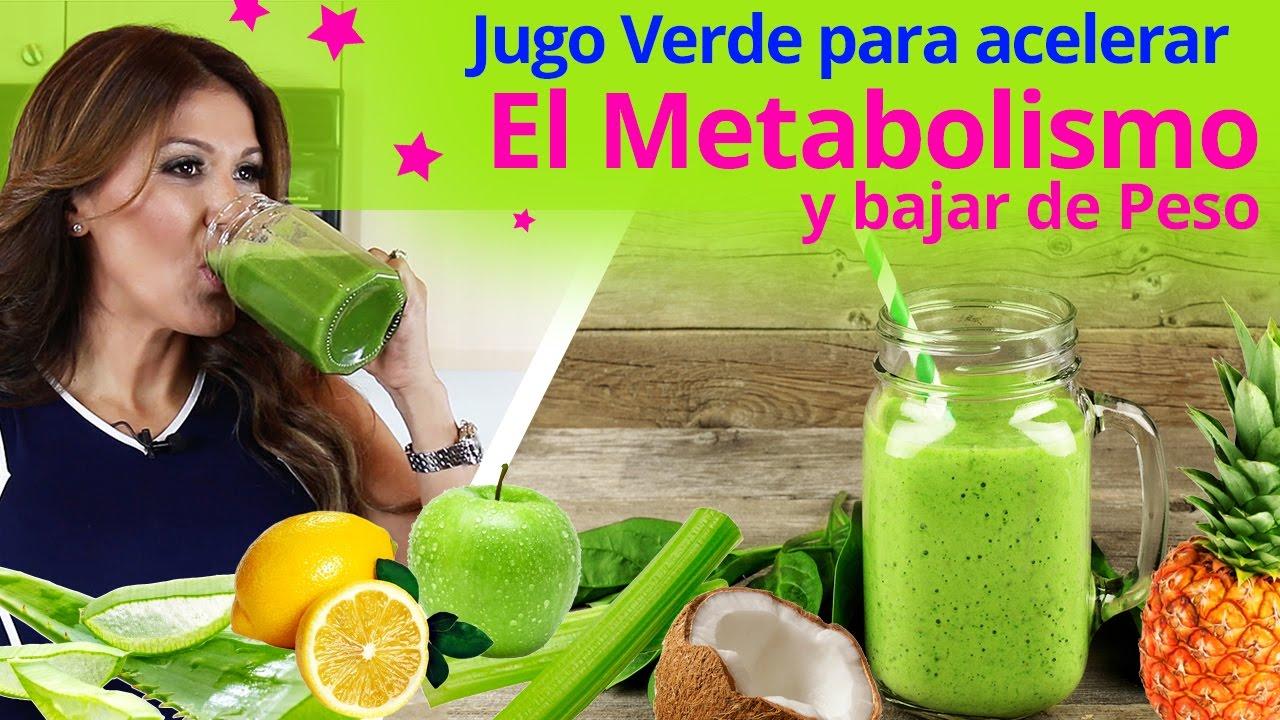 como bajar de peso acelerando tu metabolismo