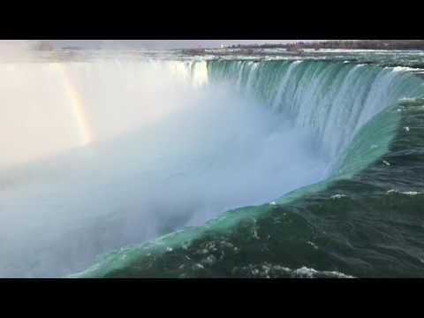 Nature Sounds Niagara Falls - Relaxation meditation white noise