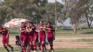 Aaron Herrera bicycle kick goal | Real Salt Lake-Arizona Academy U-17/18 vs. Arsenal FC