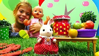 Развивающие мультики: Варенье для БебиБон Эмили. Играем в куклы