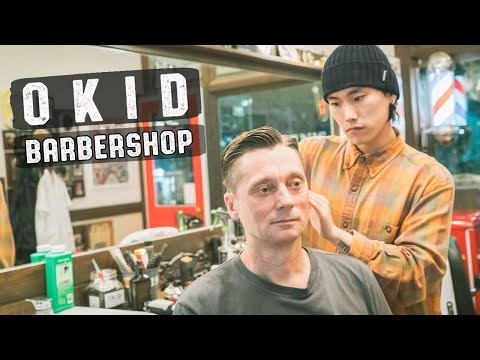 💈 Relaxing Haircut Hairwash & Style 부산 이발소 | OKID Barbershop Busan South Korea