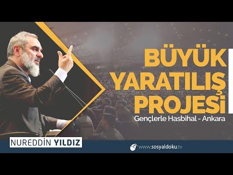 BÜYÜK YARATILIŞ PROJESİ  | Ankara / Gençlerle Hasbihal - Nureddin Yıldız (307)