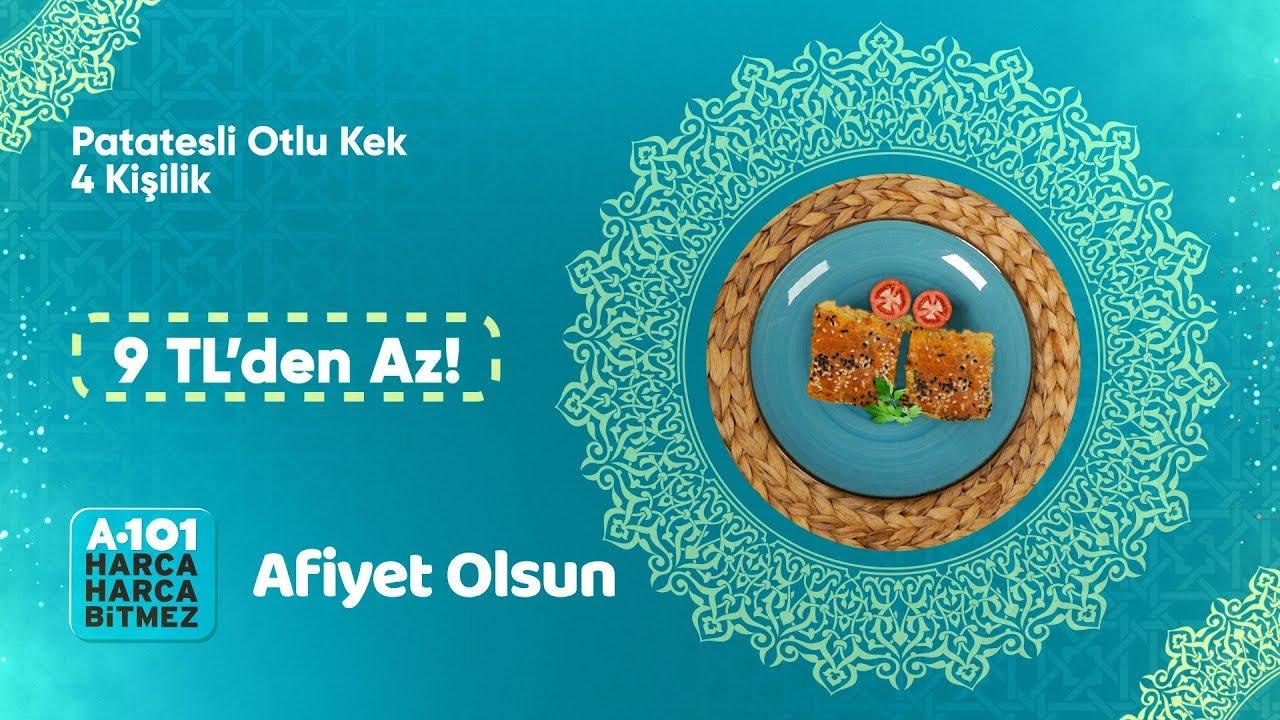 En Ucuz Ramazan Yemekleri | Patatesli Otlu Kek Tarifi | A101