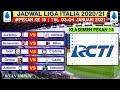 Jadwal Liga Italia Malam ini Pekan 15 | Juventus vs Udinese | Klasemen Serie a 2020 | Live Rcti