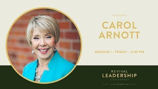 Soaking in God's Presence - Carol Arnott (2018)