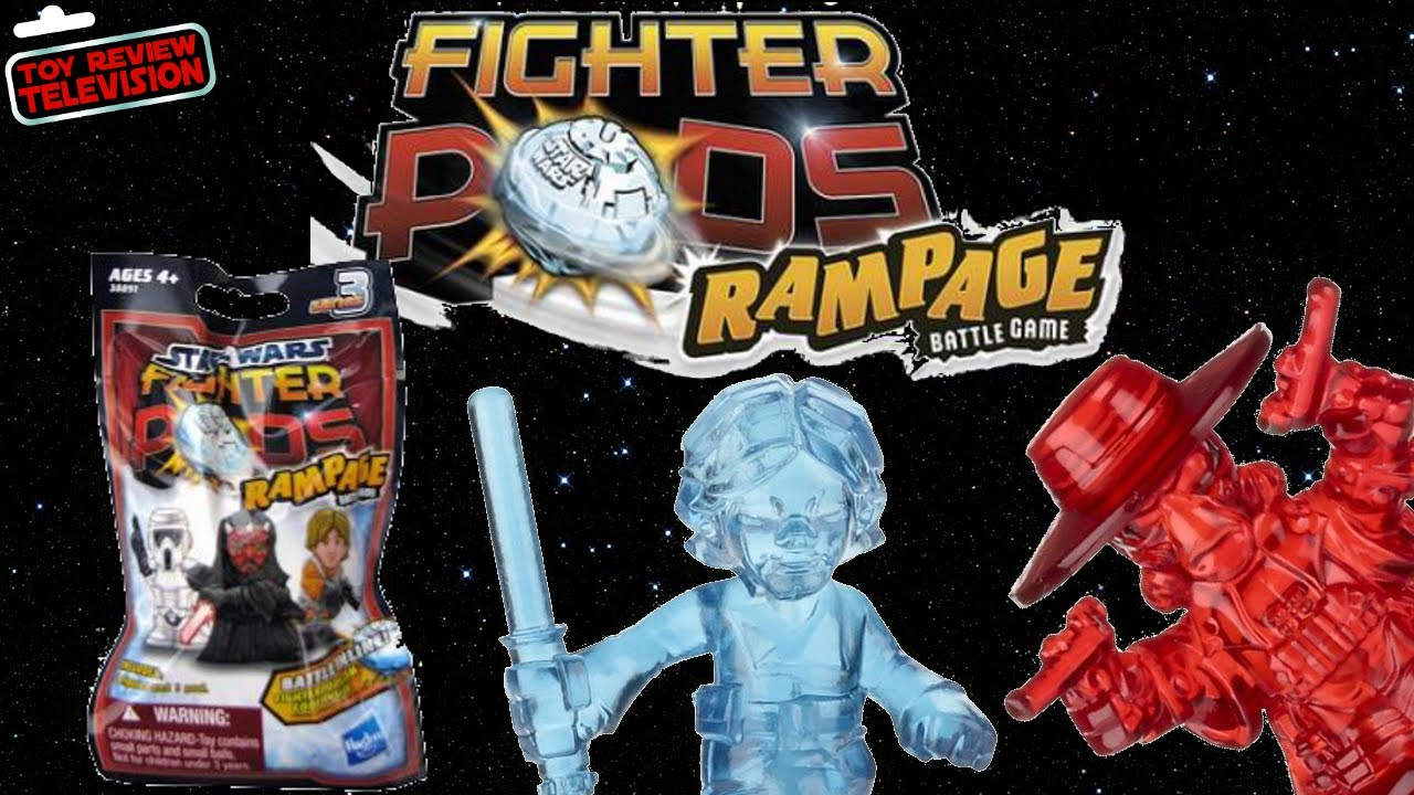 Hasbro Star Wars Fighter Pods Rampage Series 3 Blind Bags