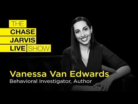 Become A Master Communicator with Vanessa Van Edwards  Chase Jarvis LIVE