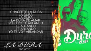 La Dura Remix - Jacob Forever Ft. Cosculluela (LETRA)