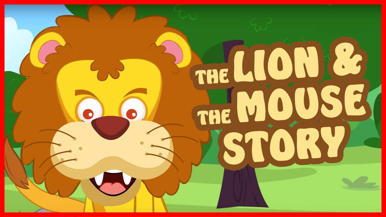 Lion and Mouse Story in English | Bedtime Story for Kids