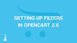 How to Create and Add Filters to OpenCart 2.x thumbnail