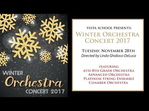 Winter Orchestra Concert 2017