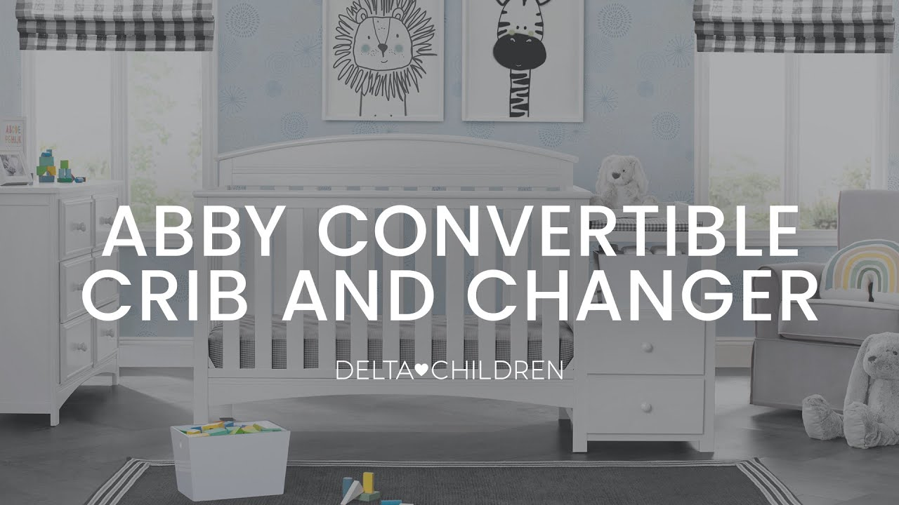 Delta Children S Abby Crib N Changer Assembly Video
