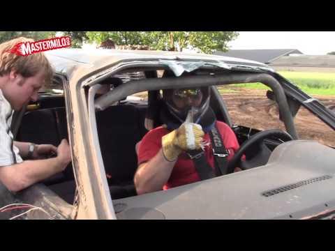 Audi 80 ramp rollover