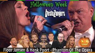 Floor Jansen & Henk Poort - Phantom Of The Opera [Beste Zangers] (REACTION!!!)