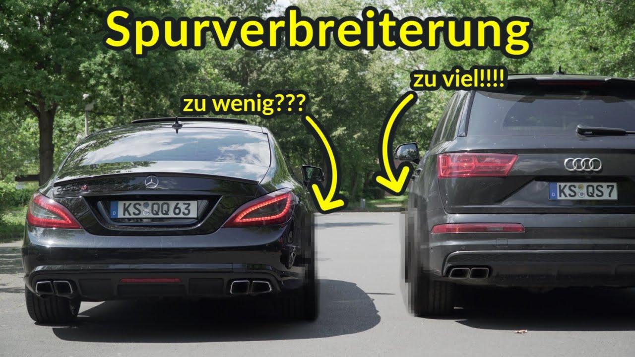 Spurverbreiterung für den CLS 63 & Audi SQ7!