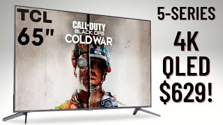 Best $600 TV 2020! TCL 65-inch 5-Series QLED 4K TV Review (TCL 65S535)