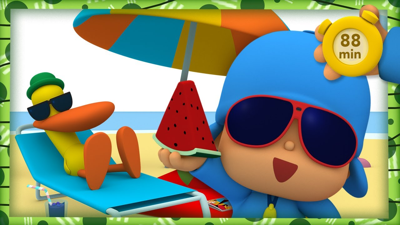 🏖 POCOYO AND NINA - Sandcastles [88 minutes] | ANIMATED CARTOON for Children | FULL episodes