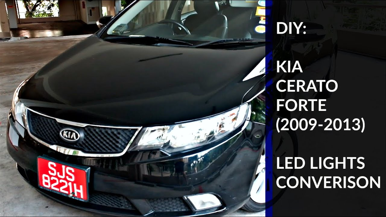 Diy Kia Cerato Forte Led Lights Youtube